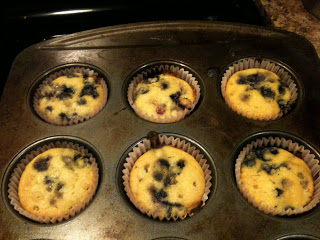 """Special"" Blueberry Muffins"