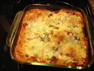 Chicken and Cheese Lasagna